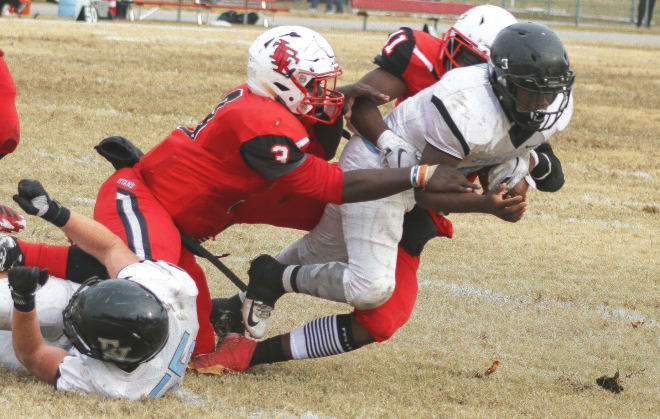 Lake Taylor's defense stopped Eastern View on 15 of the 18 opportunities they had on third and fourth down