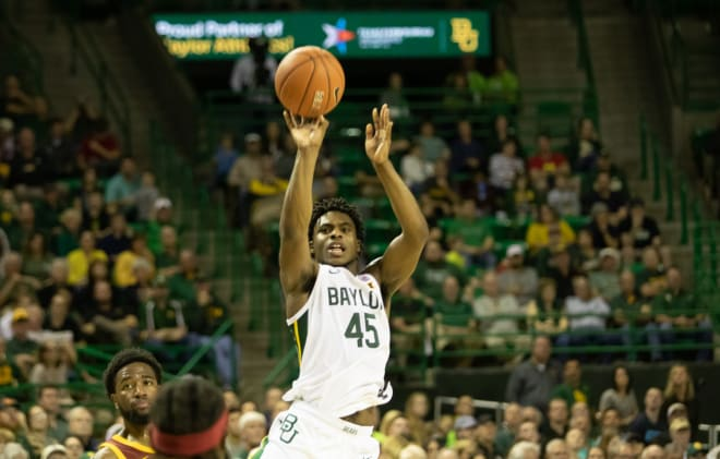 Davion Mitchell scored 17 points for the Bears in the win over Iowa State.