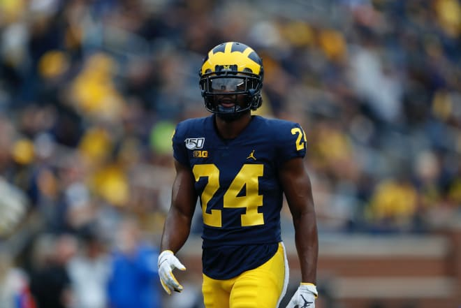 Michigan Wolverines football cornerback Lavert Hill