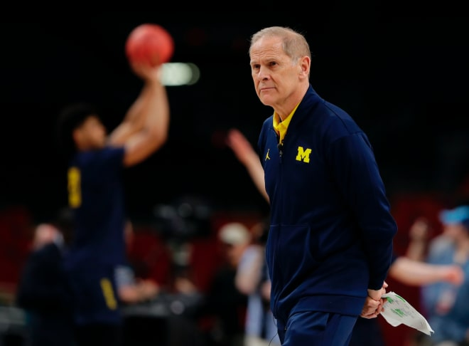 Michigan HC Beilein interviews with Pistons