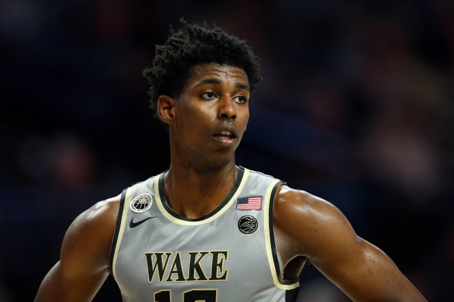 Wake Forest off to rough start