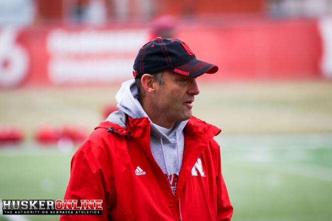 Head coach Mike Riley