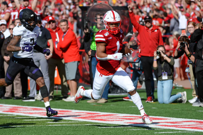 Wan'Dale Robinson's role in Nebraska's offense is going to be much bigger this spring without JD Spielman on campus.
