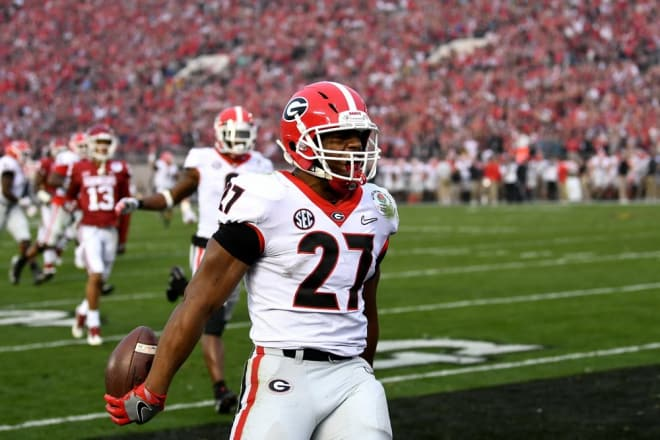 As it currently stands, Nick Chubb, along with a number of other worthy candidates, cannot even be merely considered for induction into the College Football Hall of Fame—and it's a shame.
