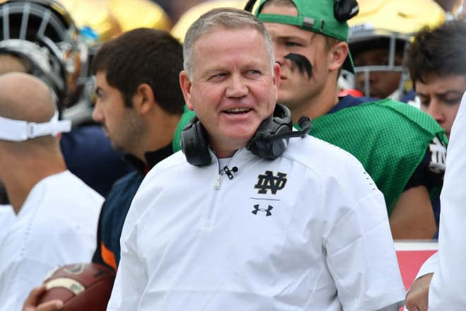 Brian Kelly and the Notre Dame Fighting Irish are getting ready for the 2019 season.