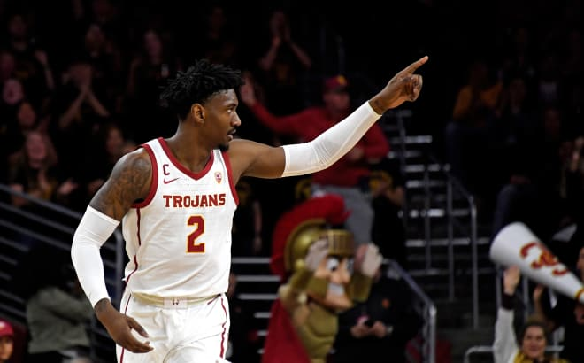 TrojanSports - Suddenly hot-shooting Trojans roll past Cal in lopsided win
