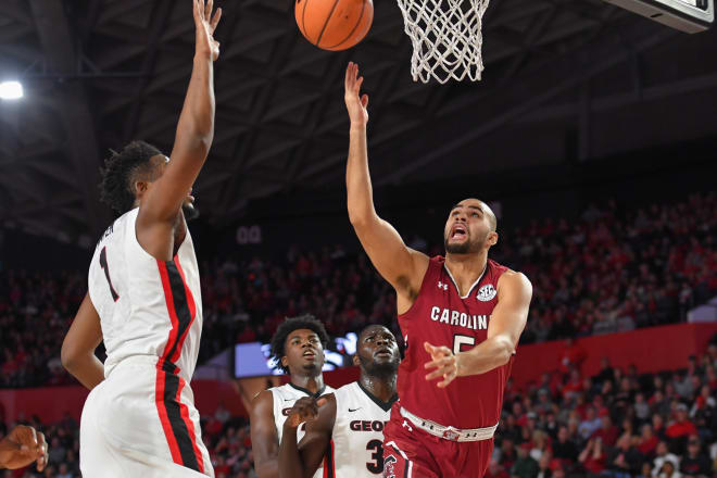 SC  goes on road for big win over Georgia