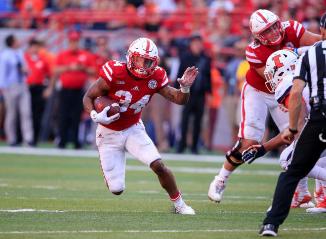 Nebraska will likely have to lean on senior running back Terrell Newby once again this week.