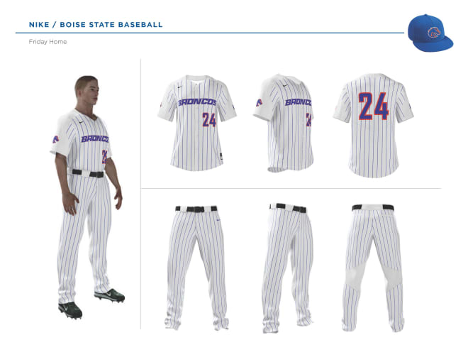 7125cf07 Blue-Turf - Boise State unveils new Baseball Uniforms