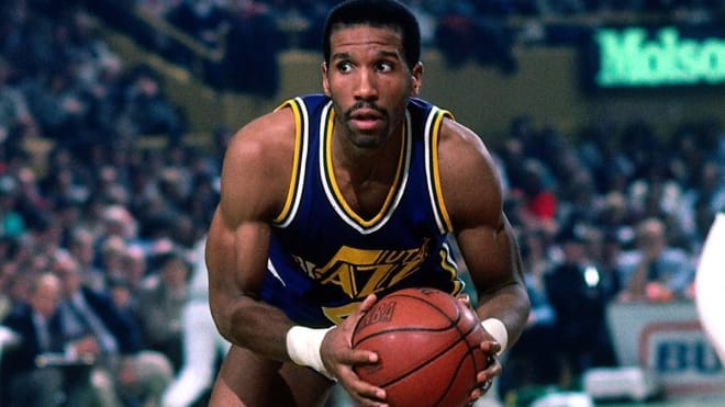 Adrian Dantley scored the third-most points in the NBA during the 1980s and had the second-best scoring average (26.5).
