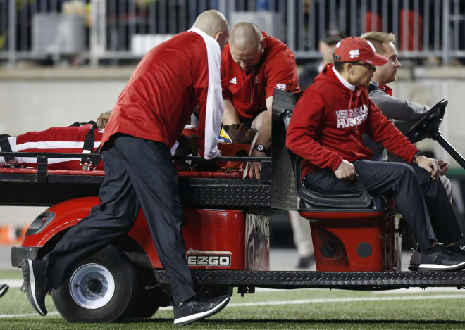 Tommy Armstrong returned to the sideline after a scary head injury on Saturday night, but his status going forward remains up in the air.