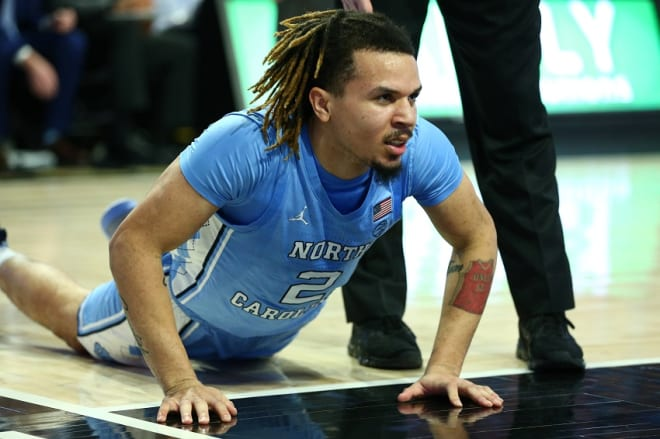 Anthony says he and the Heels won't lay down in spite of their struggles.