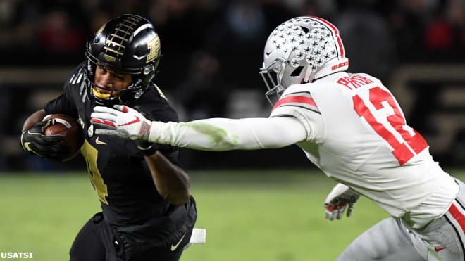 Former Ohio State safety Isaiah Pryor will visit Notre Dame this weekend