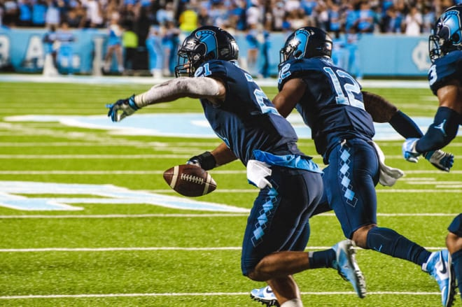 Surratt's pick to end the Duke game was huge in UNC getting to a bowl.
