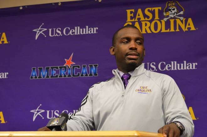 ECU head coach Scottie Montgomery says his team is pretty confident after Sunday night's practice.