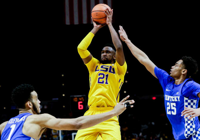 LSU Beats Texas A&M With Crazy Shot From Tremont Waters