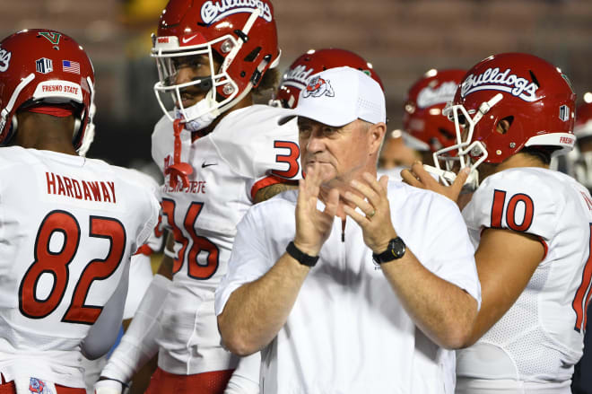 Former Cal coach Jeff Tedford is 22-6 through his first two seasons at Fresno State.