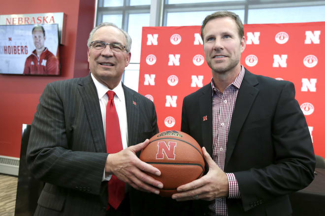 Nebraska's basketball coaching staff is now the second-highest paid in the conference.