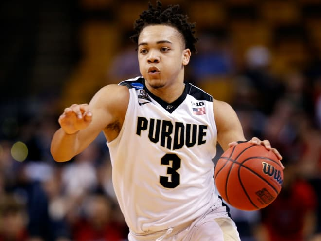 Goldandblack Carsen Edwards Trying To Make The Most Of Nba Audition