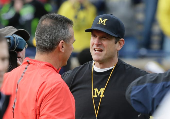 Harbaugh thinks chicken is too