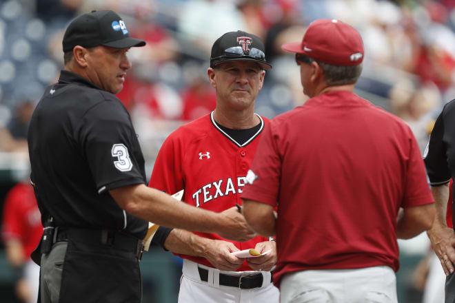 Texas Tech head coach Tim Tadlock