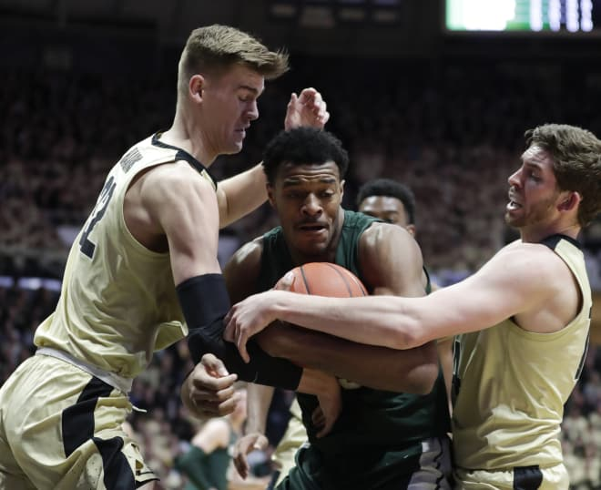 Unranked Purdue Boilermakers upset No. 6 Michigan State Spartans