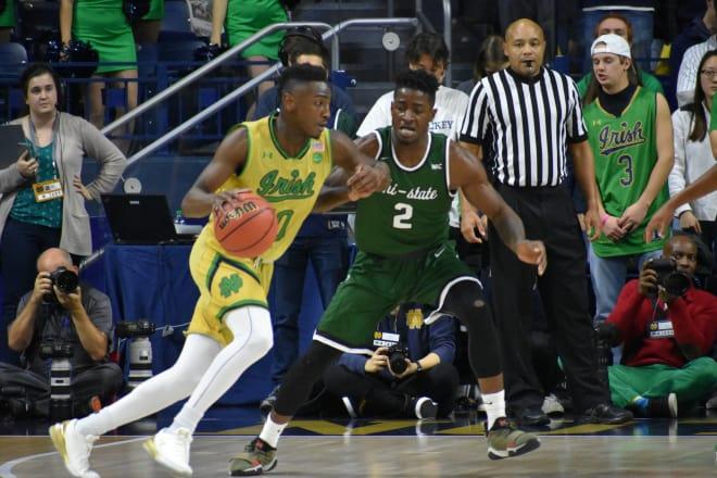 Notre Dame Ahead Of Time In 24-17 Win Versus Navy