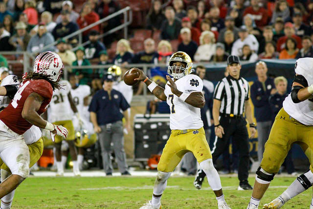 Notre Dame WR Chase Claypool to miss Citrus Bowl with shoulder injury