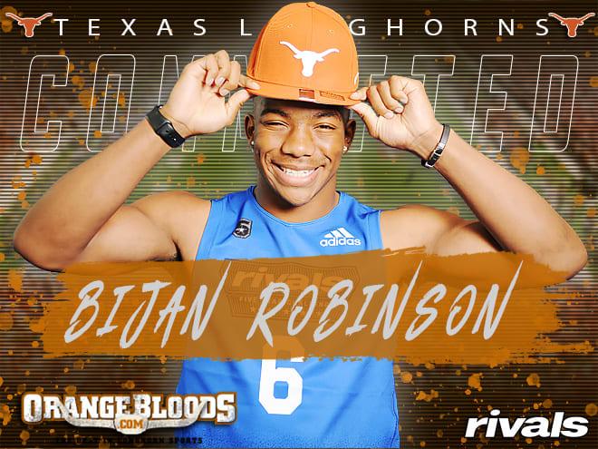 Longhorns land 5-star 2020 RB Bijan Robinson | SportsDay