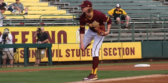 ASUDevils.com - Late game homer seals Stanford victory, ASU awaits placement in regionals