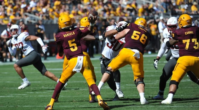 ASU freshman QB Jayden Daniels engineer his third game-winning drive of his young career.