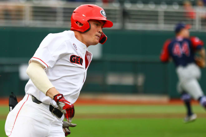 Third baseman and closer Aaron Schunk is dealing with a strained Achilles tendon.
