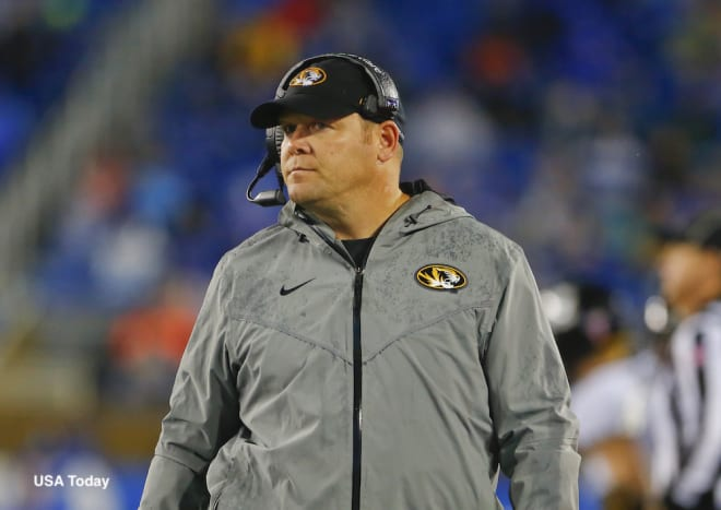 Mizzou fires Barry Odom as coach after 4 seasons at alma mater