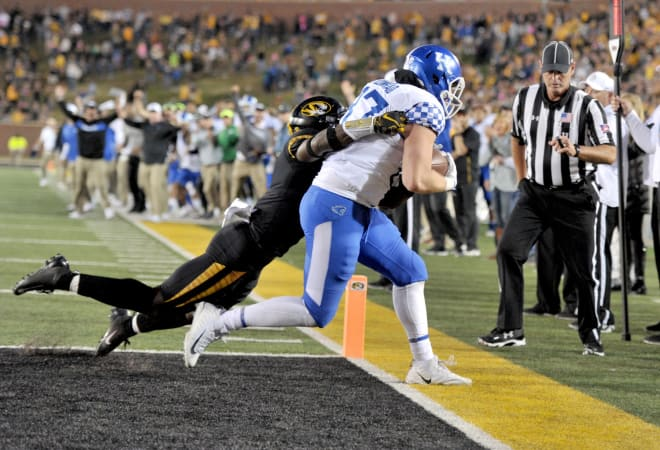 Kentucky pulls out miracle win over Missouri on final play