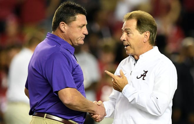 Five questions as the Alabama Crimson Tide prepares for LSU