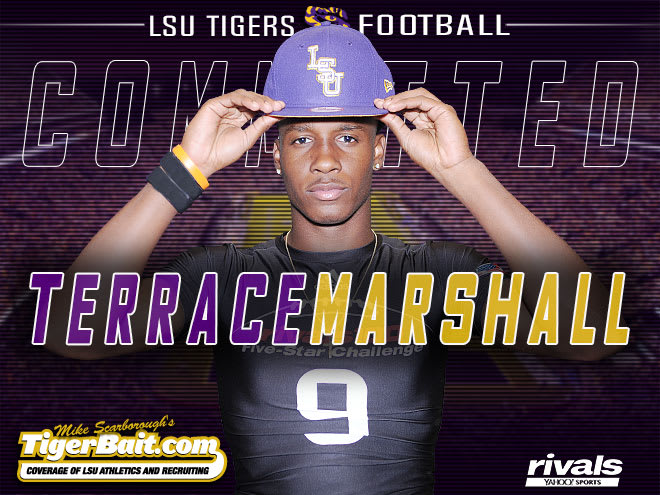 5-Star WR Terrace Marshall Announce Commitment