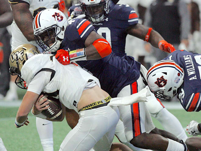 Auburn's Kerryon Johnson Declares for NFL Draft