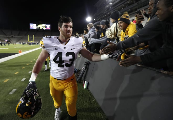 Linebacker Josie Jewell is getting some preseason All-American talk this summer, and will be the unquestioned leader of the Hawkeye defense.