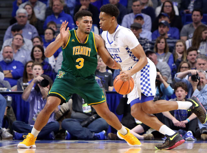 UK Squeaks Out a Win Over Vermont 73-69