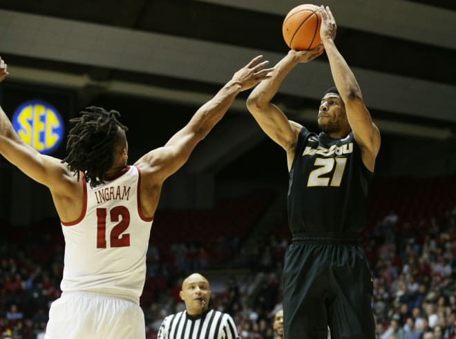 Mizzou hands Alabama first SEC home loss, 69-60