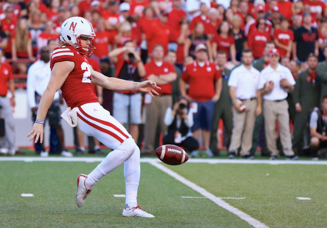 Sam Foltz's parents will be part of Nebraska's Senior Day festivities on Saturday vs. Maryland.
