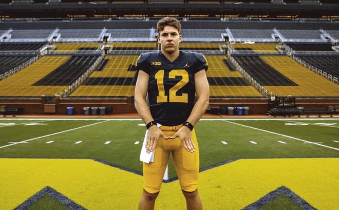 Four-star pro-style quarterback Cade McNamara will return to Ann Arbor this weekend.