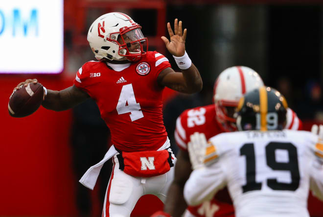 Tommy Armstrong was second in the Big Ten in passing yards per game (252.5).