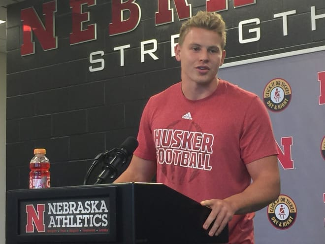 Tight end Tyler Hoppes knows he has lofty praise from Mike Riley to up to this season.