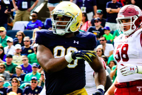 Notre Dame players, including Kevin Stepherson and Deon McIntonsh, dismissed from team