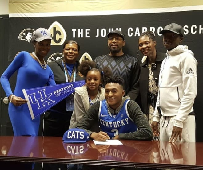 Five-star wing Keldon Johnson gives Kentucky its second pledge from 2018