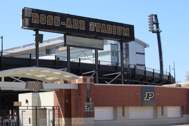 Fans will notice a new ribbon video board in the north end zone this season.