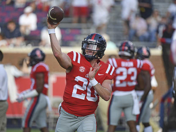 Former Ole Miss quarterback Shea Patterson announces transfer to MI