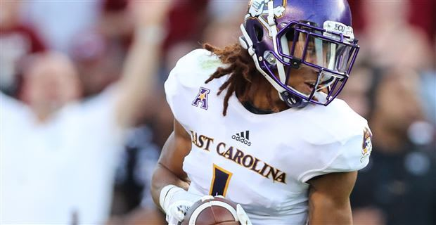 ECU fifth year senior wide receiver Deondre Farrier is looking to make this season his best yet.