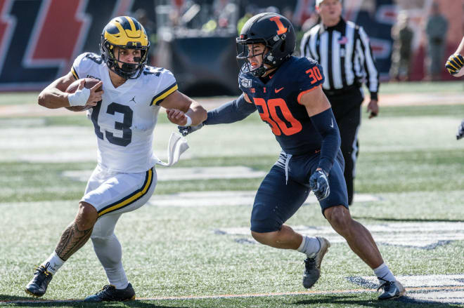TheWolverine - Offense Notes: U-M Rushing Attack Finally Finds Its Rhythm Against Illinois